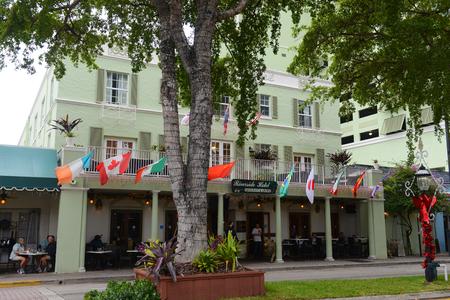Riverside Hotel on Las Olas Boulevard, Fort Lauderdale, Florida, USA. 免版税图像 - 96136554