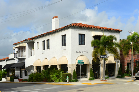 Parasutra is a historic building on 234 S County Rd in Palm Beach, Florida, USA.