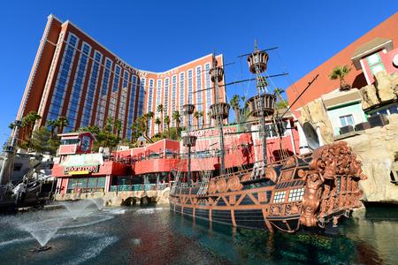 Treasure Island ist ein Luxusresort und Casino am Las Vegas Strip in Las Vegas, Nevada, USA. Das Hotel hat das Thema Karibik-Piraten.