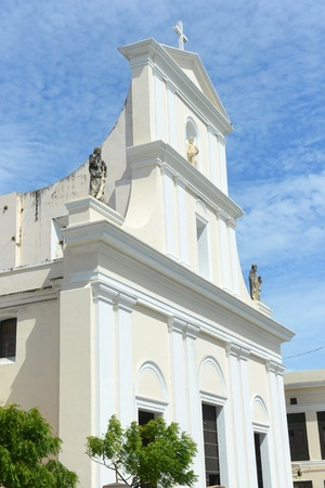 Cathedral of San Juan Bautista is a Roman Catholic cathedral in Old San Juan, Puerto Rico. This church is built in 1521 and is the oldest church in the United States.