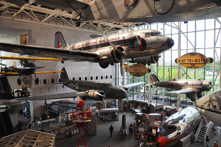 Smithsonian National Air and Space Museum in Washington DC, USA.