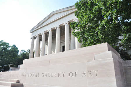National Gallery of Art (west building) in Washington DC, USA.