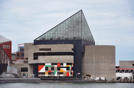 National Aquarium in Baltimore, Maryland, USA. Editorial