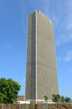 Erastus Corning Tower is a skyscraper completed in 1965 on the east side of Empire State Plaza in downtown Albany, New York, USA. This building houses the New York State Department of Health. Editoriali