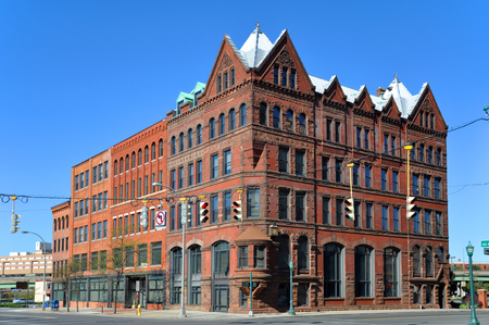 Third National Bank Building was built in 1902 at Clinton Square in downtown Syracuse, New York State, USA.