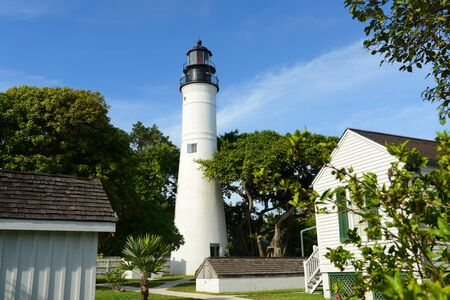 Key West lighthouse is a historic lighthouse built in 1849 in Key West, Florida, USA.