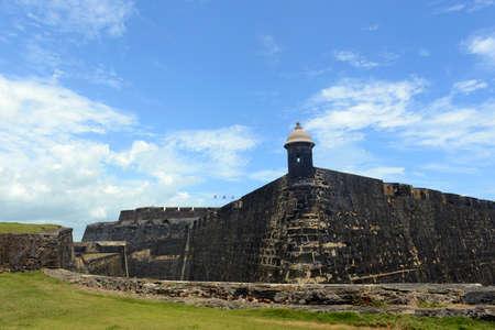 Castillo de San Cristobal, San Juan, Puerto Rico.