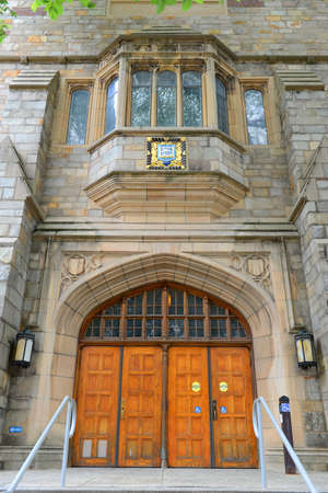 Branford Hall in Yale University, New Haven, Connecticut, CT, USA.