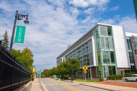 Fitchburg State University Antonucci Science Complex in Fitchburg, Massachusetts MA, USA.