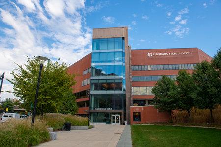 Fitchburg State University Hammond Hall in Fitchburg, Massachusetts MA, USA.