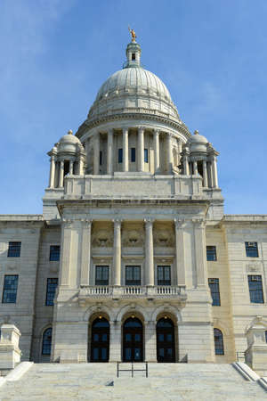 Rhode Island State House, Providence, Rhode Island RI, USA. Rhode Island State House was constructed in 1904 with Georgian style.