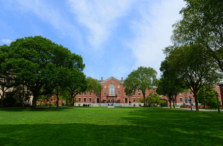 Faunce House is a Colonial Revival style building in Brown University. This building was built in 1903 and originally called Rockefeller Hall, Brown University, Providence, Rhode Island RI, USA.