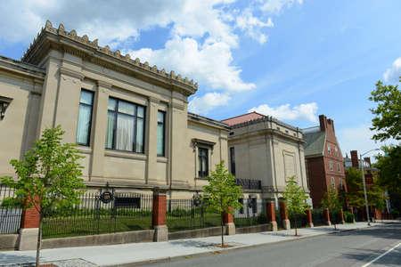 John Carter Brown Library in Brown University, Providence, Rhode Island RI, USA.