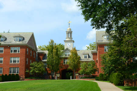 Wayland Hall in Brown University, Providence, Rhode Island RI, USA.