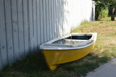 leisurely: boat Stock Photo