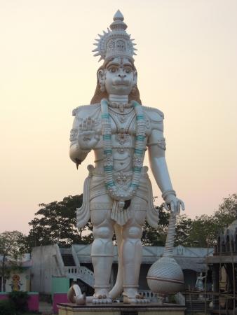 bing: Lord Hanuman  Stock Photo