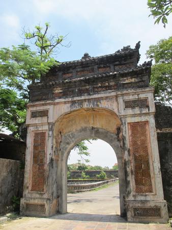 hue: Gate in Hue Royal Palace