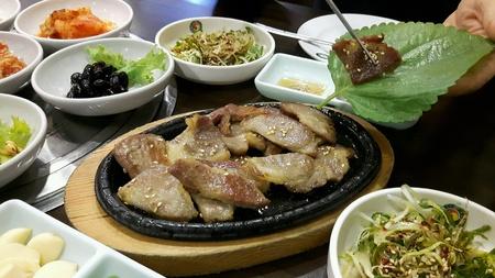 simple meal: A simple Korean meal