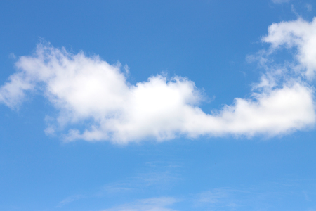 fluffy clouds: fluffy clouds in the blue sky.blackground Stock Photo
