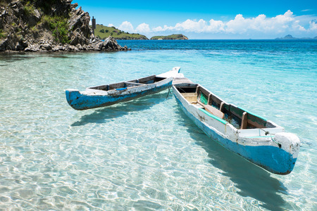 コモド国立公園 - 諸島ダイビング、インドネシア、ヌサ ・ トゥンガの最も populat 観光地を探索のための楽園 写真素材