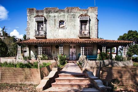 casa colonial: casa residencial colonial, Cuba