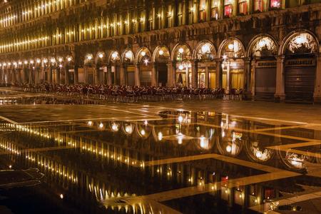 ストック フォト: ピアッツァ サン マルコ ・ サン ・ マルコ広場はイタリア主要広場ヴェネツィアの公共
