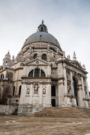 ヴェネツィア, イタリア, ヨーロッパのサンタ・マリア ・ デッラ ・ サルーテ聖堂
