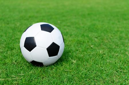 conner: soccer ball on soccer field conner