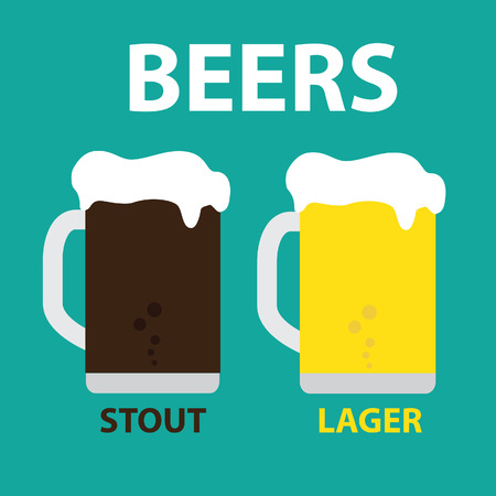 draught: Beers: Stout  Lager