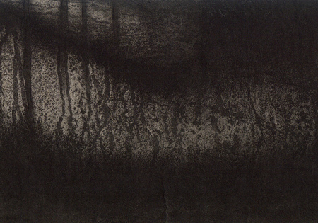 etching: Art abstract background . Handmade etching print on paper. Stock Photo