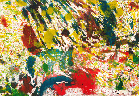 printmaking: Art Abstract Background.Hand painting on paper. Stock Photo