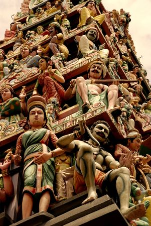 indian artifacts: Indian temple statues