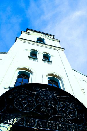 principled: Church Stock Photo
