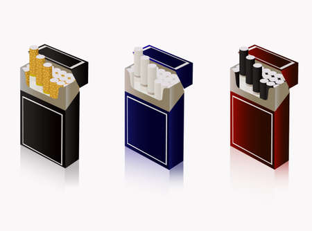 pernicious: tres paquetes de cigarrillos
