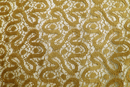 gold lace: Gold lace.
