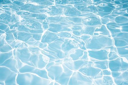 Consistenza dell'acqua in piscina per lo sfondo