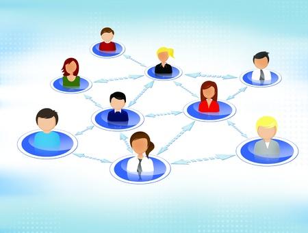 Social network  photo