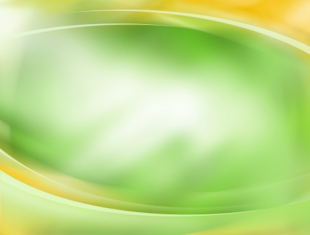 vertical wellness: Soft green and yellow background