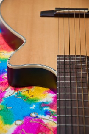 acoustic classic guitar Stock Photo - 7743471