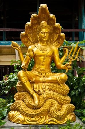 thai sculpture image of narayana Stock Photo - 7891207
