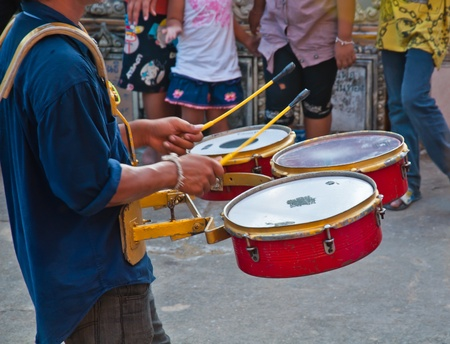 drumer in thai country