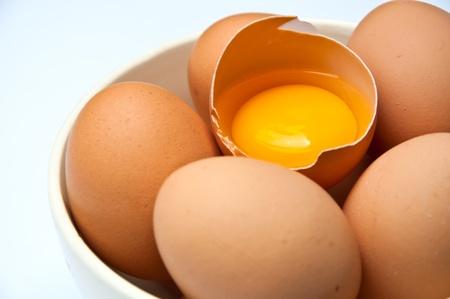 aves de corral: huevo