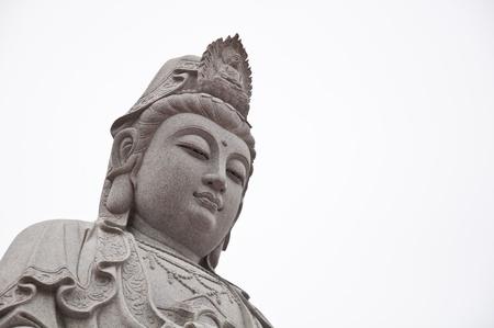 mercy: Kuan Yin image of buddha sculpter art