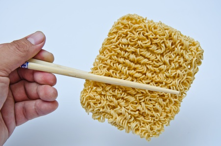 noodle Chopsticks Stock Photo - 12976997