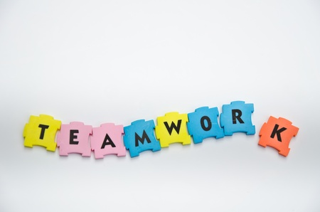 puzzle teamwork photo