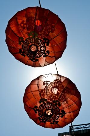 happiness symbol chinese newyear lantern