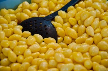 nelumbinis: Grains Stock Photo