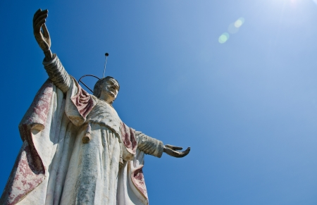 Christ the redeemer statue Stock Photo