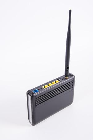 wireless hot spot: wireless router