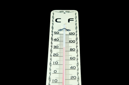 wooden thermometer Stock Photo - 15867966